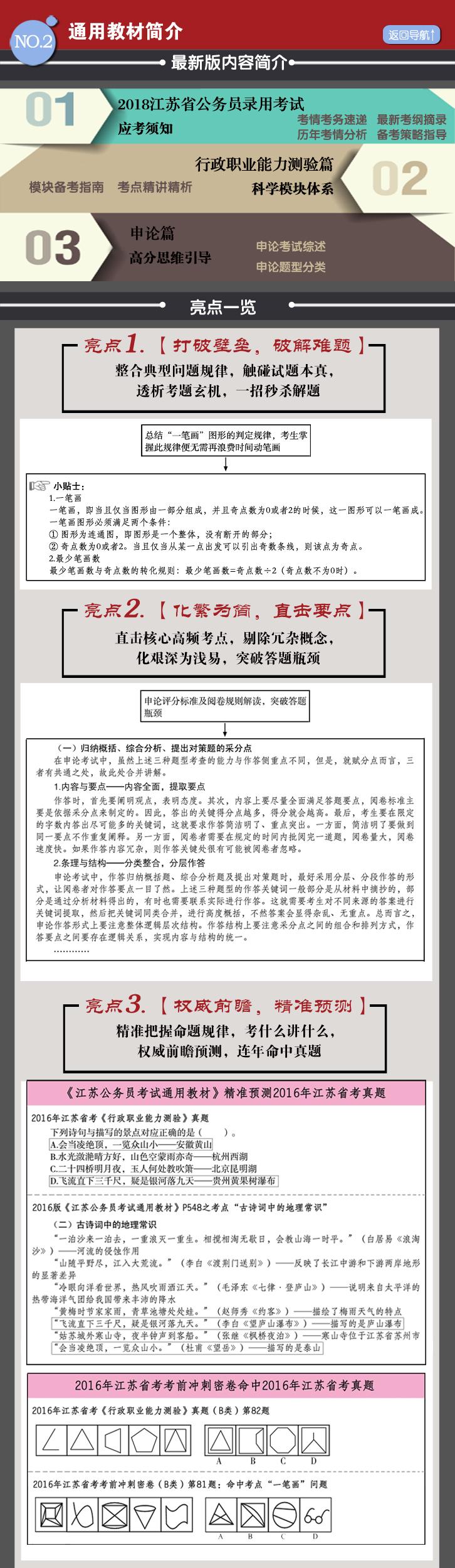 江苏公务员考试用书简 介